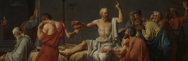 Death of Socrates - banner 3b